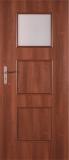 Drzwi Classen Latona 1/3 szyby wiśnia 70lewa