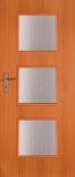 Drzwi chronos 3/3 70/90 buk/dąb -wyprzedaż