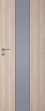 Drzwi DRE Vetro B1 decormat grafit