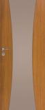 Drzwi DRE Vetro C1 decormat brąz