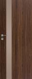 Drzwi DRE Vetro D1 szyba decormat brąz