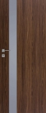 Drzwi DRE Vetro D1 szyba decormat grafit